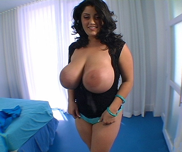 Biggest natural tits in world